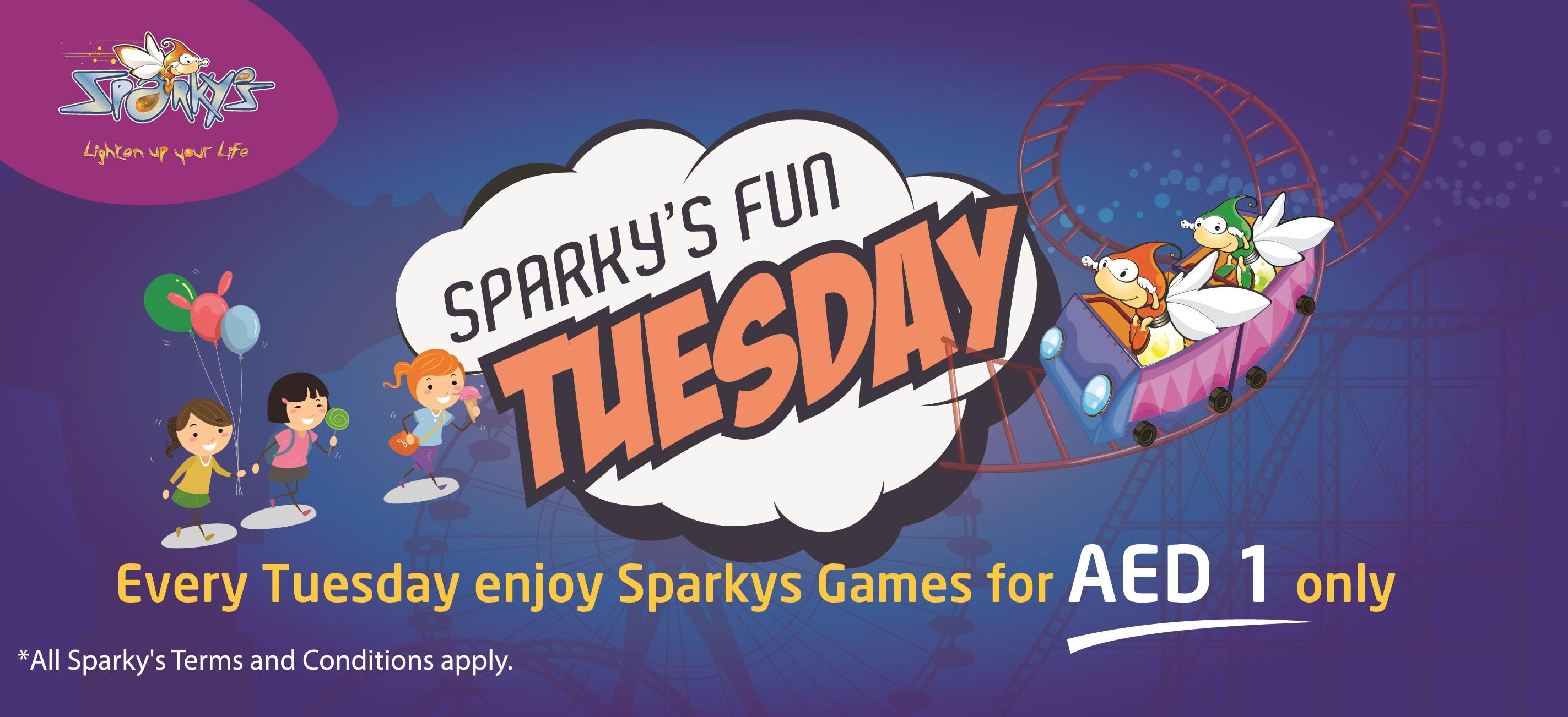 Sparky's Fun Tuesday